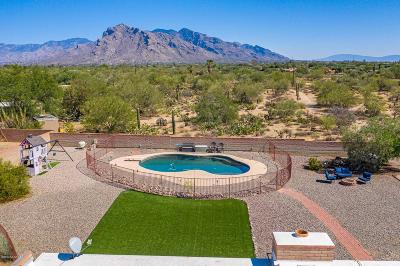 Tucson Single Family Home Active Contingent: 8100 N Boreal Drive