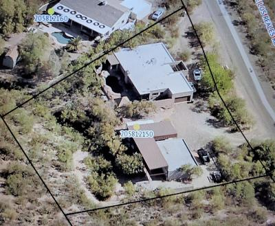 Tucson Single Family Home For Sale: 12490 E Los Reales Road