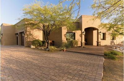 Tucson Single Family Home Active Contingent: 11596 E Saguaro Crest Place