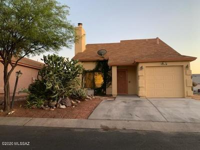Tucson Single Family Home Active Contingent: 4259 W Stagestop Court