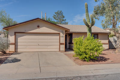 Tucson Single Family Home Active Contingent: 5821 N Edenbrook Lane