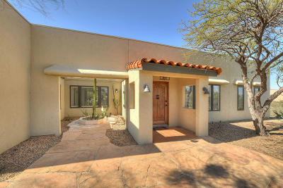 Tucson Single Family Home Active Contingent: 9375 N Raleigh Drive