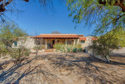 Tucson Single Family Home For Sale: 9411 E Margo Lane