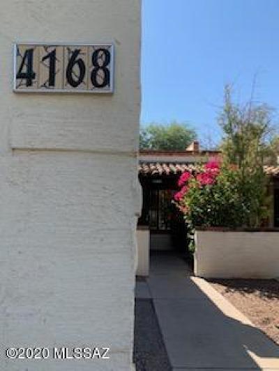 Tucson Townhouse For Sale: 4168 N Via Villas