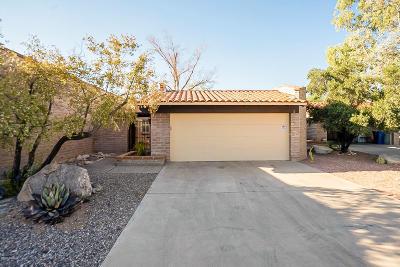 Tucson Townhouse For Sale: 8469 N Via Tioga