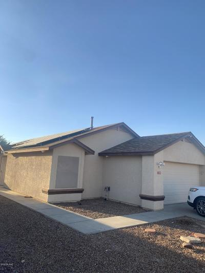 Tucson Single Family Home For Sale: 3380 S Nastar Drive