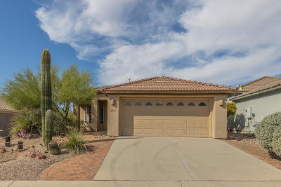Marana Single Family Home Active Contingent: 13331 N Heritage Club Place