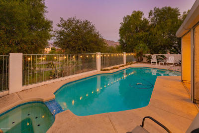 Oro Valley Single Family Home For Sale: 1626 W Canada Hills Drive