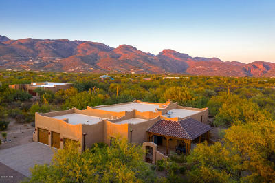 Tucson Single Family Home Active Contingent: 11944 E Summer Trail