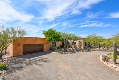 Tucson Single Family Home Active Contingent: 2220 E Camino El Ganado