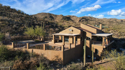 Tucson Single Family Home For Sale: 14171 N Gibson Trail