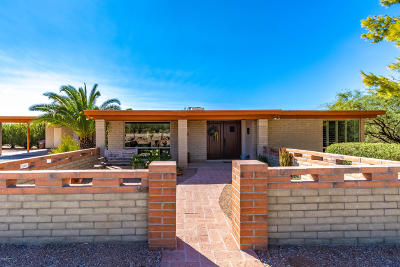Tucson Single Family Home Active Contingent: 1518 W Chapala Drive