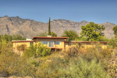 Tucson Single Family Home For Sale: 4802 E Paseo Del Bac