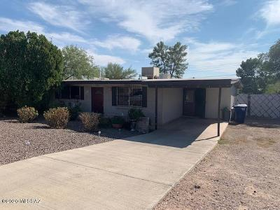 Tucson Single Family Home For Sale: 1865 W Merlin Road