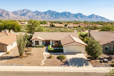Oro Valley Single Family Home Active Contingent: 1416 E Mule Train Drive