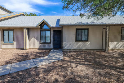 Tucson Townhouse For Sale: 2721 N Pacific Drive