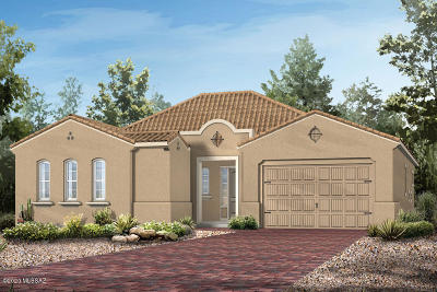 Marana Single Family Home For Sale: 7370 W Cactus Flower Pass N