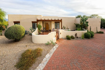 Tucson Single Family Home Active Contingent: 5980 E Territory Avenue
