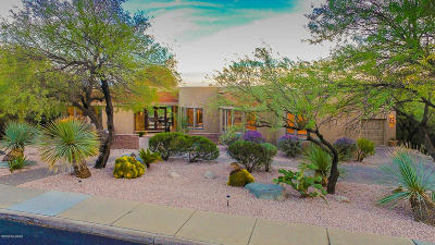 Tucson Single Family Home Active Contingent: 7200 E Ventana Canyon Drive