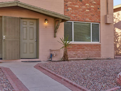 Tucson Condo Active Contingent: 953 N Desert Ave #A