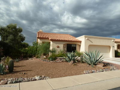 Oro Valley Single Family Home Active Contingent: 14311 N Chalk Creek Drive