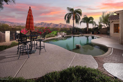Oro Valley Single Family Home Active Contingent: 11500 N Via De La Verbenita