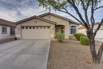 Oro Valley Single Family Home Active Contingent: 124 W Alyssa Canyon Place