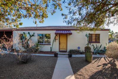 Tucson Single Family Home For Sale: 4610 E 13th Street