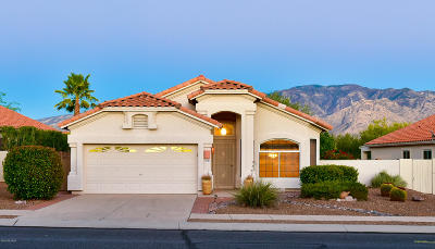 Oro Valley Single Family Home Active Contingent: 12180 N New Dawn Avenue