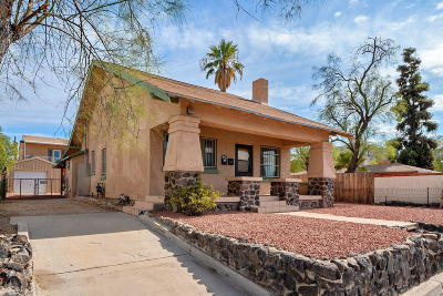 Tucson Single Family Home Active Contingent: 1220 N Euclid Avenue