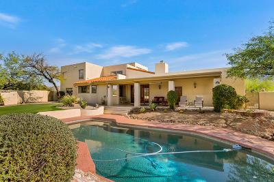 Tucson Single Family Home Active Contingent: 13350 E Camino La Cebadilla