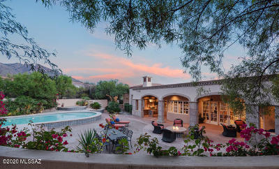 Tucson Single Family Home For Sale: 7268 N Cathedral Rock Road