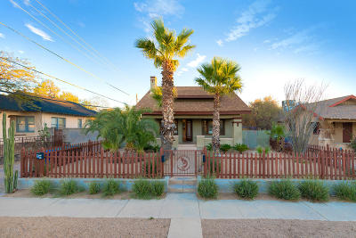 Tucson Single Family Home For Sale: 716 E Mabel Street