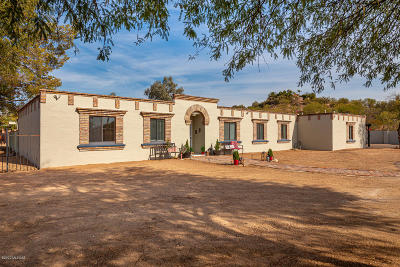 Tucson Single Family Home For Sale: 2600 W Magee Rd