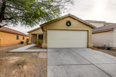 Tucson Single Family Home Active Contingent: 4064 E Agate Knoll Drive