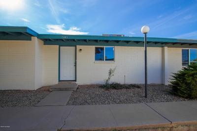 Tucson Townhouse For Sale: 7443 E Desert Spring Drive