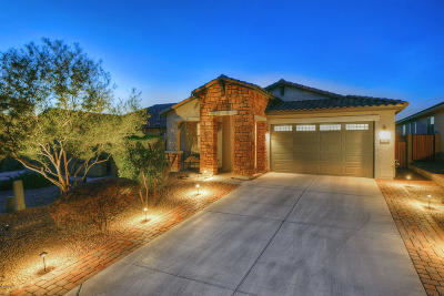 Marana Single Family Home Active Contingent: 12111 N Golden Mirror Drive
