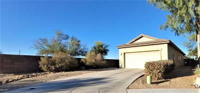Sahuarita Single Family Home Active Contingent: 871 E Autumn Harvest Place