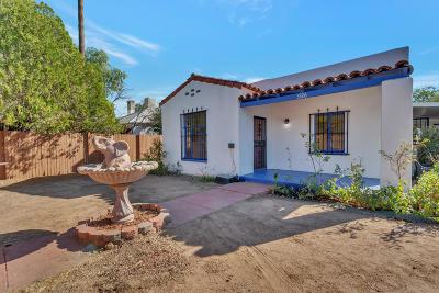 Tucson Single Family Home Active Contingent: 3326 E Pima Street