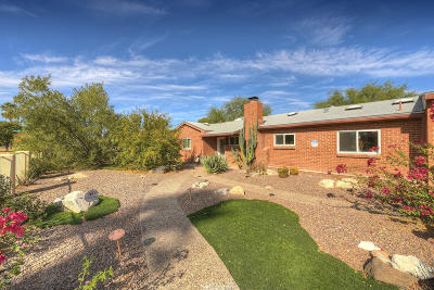 Tucson Single Family Home For Sale: 2827 E Monte Vista Drive