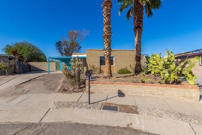 Tucson Single Family Home For Sale: 3448 S Victoria Place
