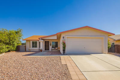 Tucson Single Family Home For Sale: 8420 N Camas Way