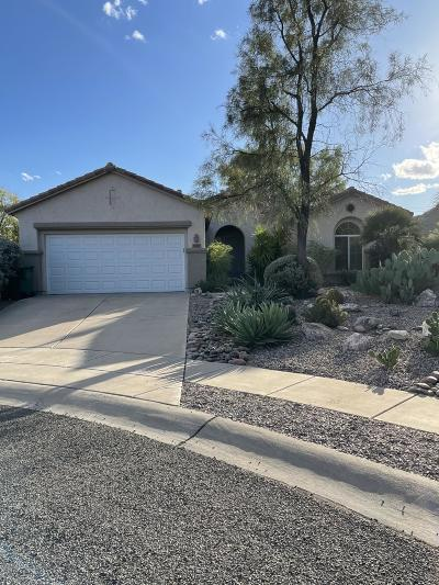 Tucson Single Family Home Active Contingent: 8165 W Blowing Tumbleweed Place