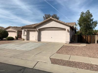 Tucson Single Family Home For Sale: 7388 W Tyler Place