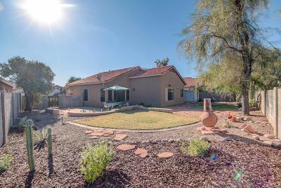 Tucson Single Family Home Active Contingent: 6456 W Darrah Place