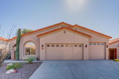 Tucson Single Family Home Active Contingent: 7266 E Vuelta Rancho Mesquite