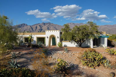 Tucson Single Family Home Active Contingent: 4560 N Paseo Bocoancos