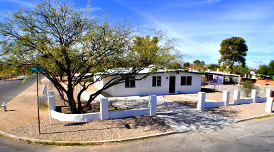 Tucson Single Family Home Active Contingent: 4608 S 17th Avenue