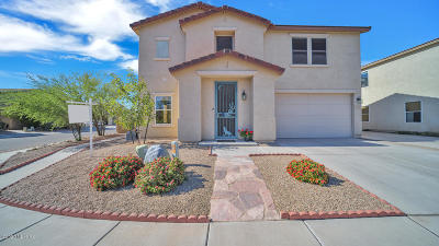 Tucson Single Family Home Active Contingent: 3403 N Winding River Way