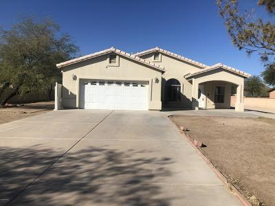 Tucson Single Family Home Active Contingent: 5430 S Rosepine Road